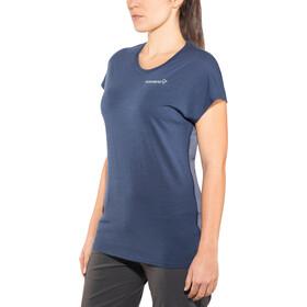Norrøna Bitihorn Wool Camiseta Mujer, indigo night